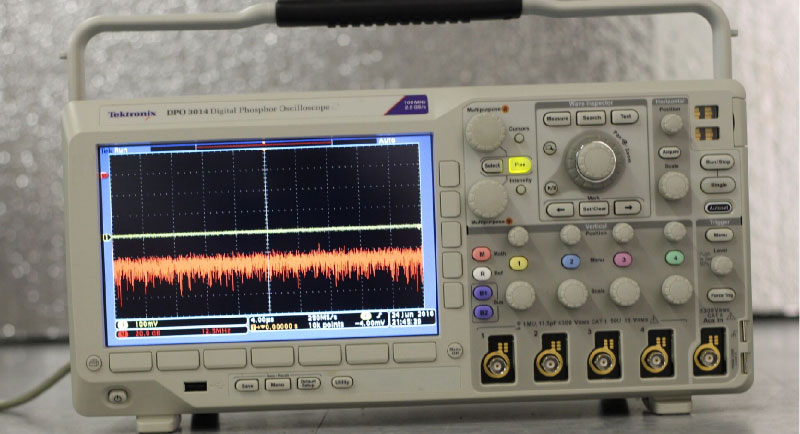 Tektronix Oscilloscope - example of test equipment we buy/sell